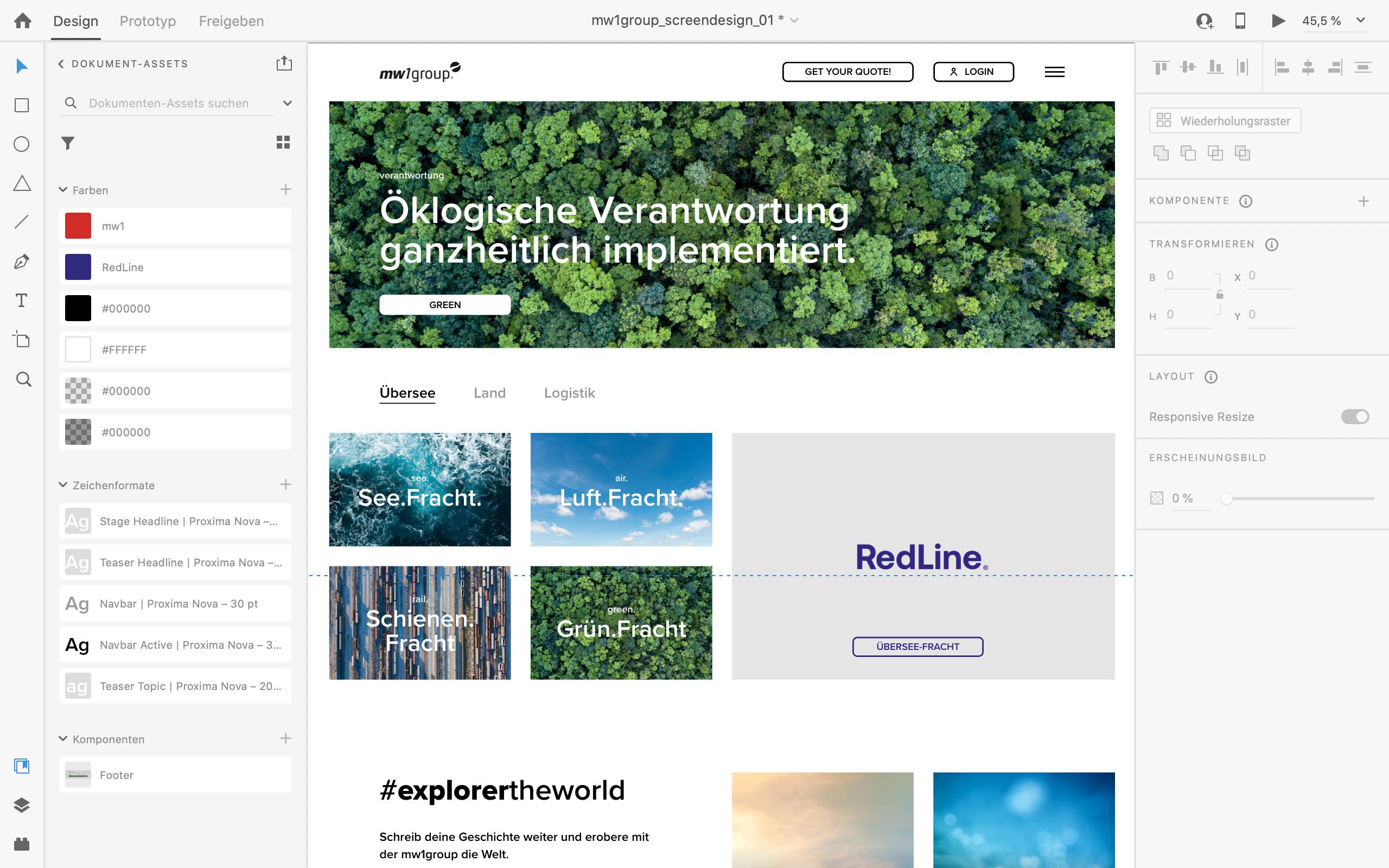 Adobe XD für moderndes und klares Webdesign